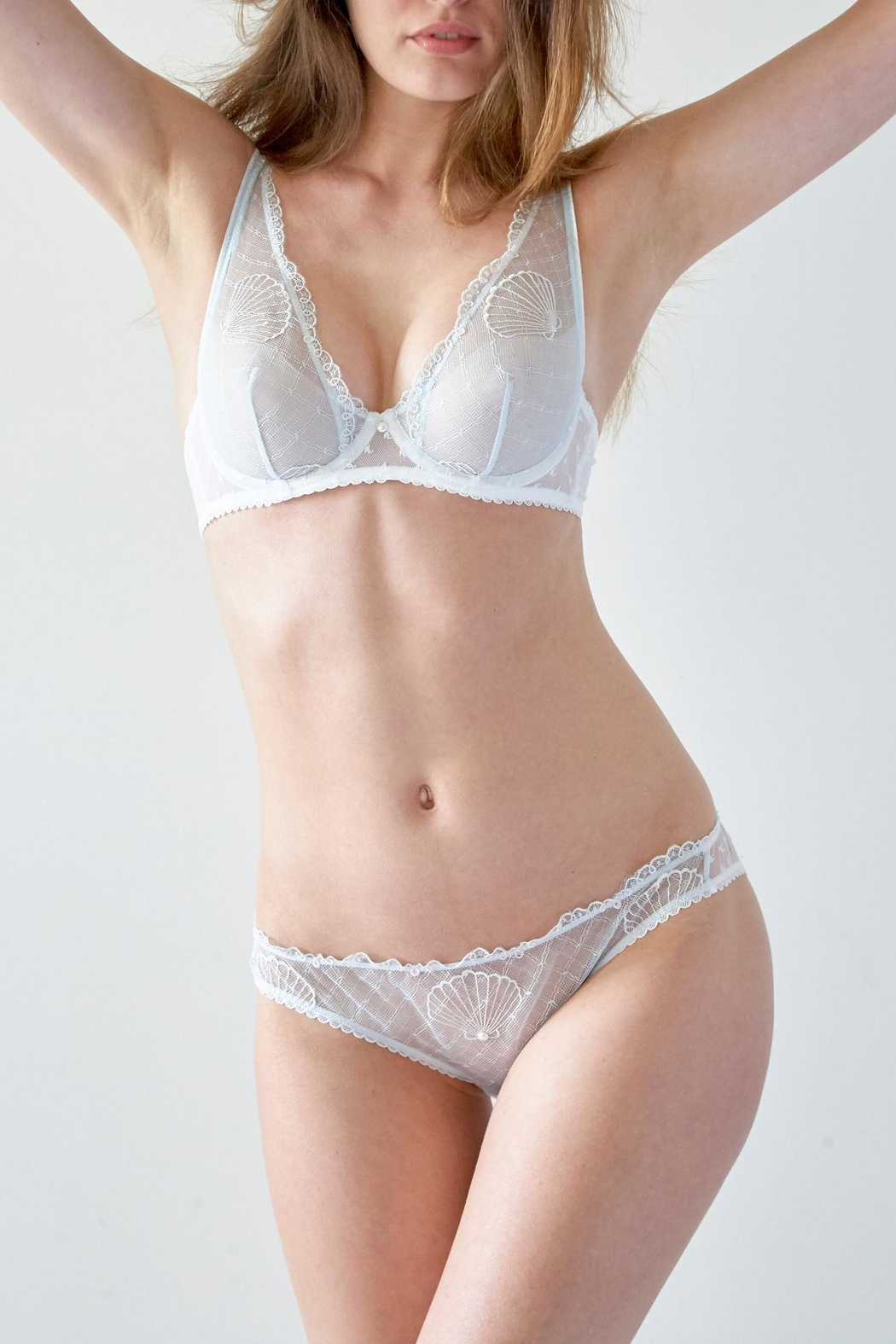 Mimi Holliday Sea Breeze Bra - Front Cropped Image