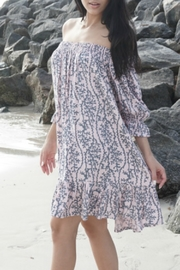 Lani Lau Hawaii Sea Coral Indigo Dress - Product Mini Image