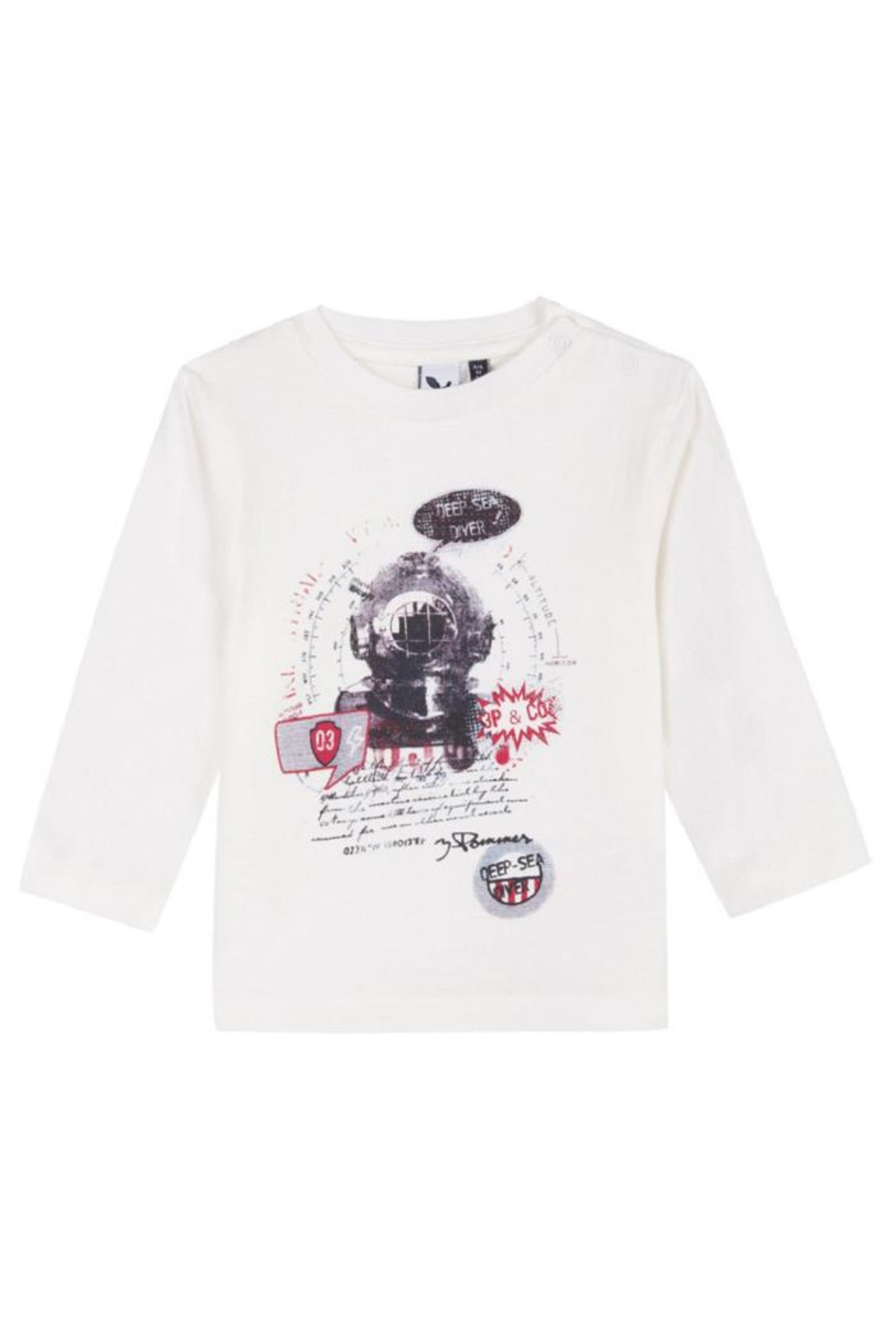 3 Pommes Sea Diver Tee - Main Image