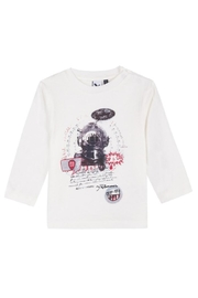 3Pommes Sea Diver Tee - Front cropped