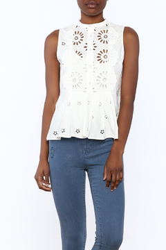 SEA Exploded Eyelet Top - Product List Image