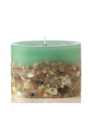 Rosy Rings Sea Glass Petite Botanical Candle - Product Mini Image