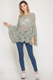 She + Sky Sea Glass Sweater - Product Mini Image