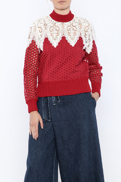 Shoptiques Product: Hole Punch Sweater