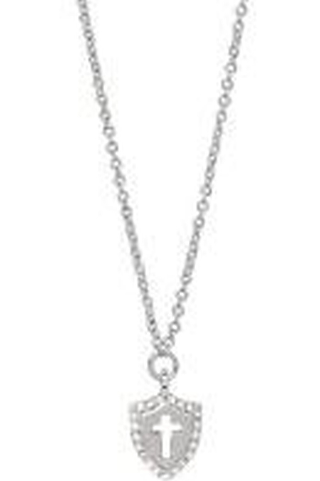Spartina 449 Sea La Vie Faith Over Fear Necklace 18' - Front Cropped Image