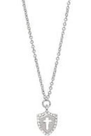 Spartina 449 Sea La Vie Faith Over Fear Necklace 18' - Front cropped