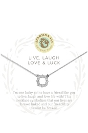 Spartina 449 Sea La Vie Luck Necklace 18' - Product Mini Image