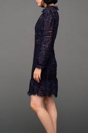 SEA Lace Embroidered Dress - Side cropped