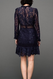 SEA Lace Embroidered Dress - Front full body