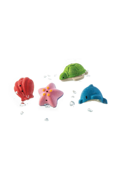 Plan Toys Sea Life Bath Set - Alternate List Image