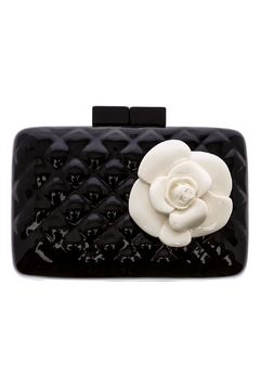 Shoptiques Product: Quilted Rose Clutch
