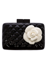 Sea Lily Quilted Rose Clutch - Product Mini Image