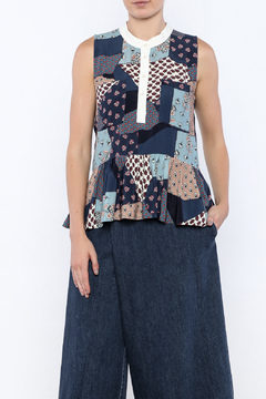 SEA Patchwork Top - Product List Image