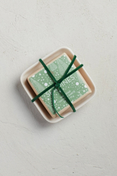 Mer Sea & Co Sea Pines Holiday Bar Soap in Ceramic Dish - Product List Image