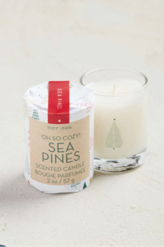 Mer Sea & Co Sea Pines Holiday Votive Candle - Product List Image