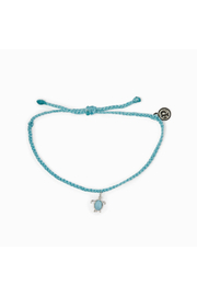 Pura Vida SEA TURTLE BRACELET-CRYSTAL BLUE - Product Mini Image