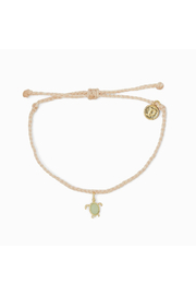Pura Vida SEA TURTLE BRACELET-VANILLA - Product Mini Image