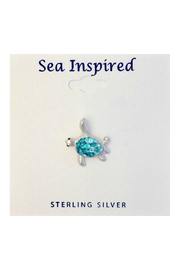 Presco SEA TURTLE NECKLACE SWAROVSKI ® CRYSTAL ELEMENTS - Product Mini Image