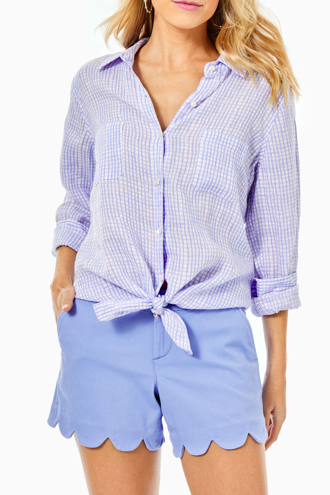 Lilly Pulitzer  Sea View Button Down - Main Image