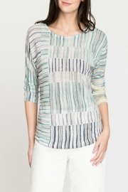 Nic + Zoe Sea Wall Stripes - Front cropped