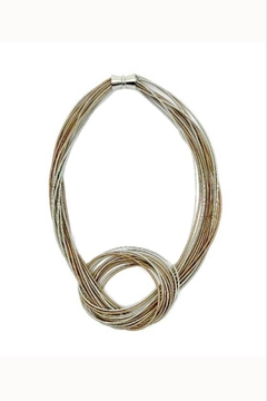 Sea Lily Wire Knot Necklace - Alternate List Image