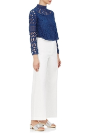 SEA Batternberg Lace Top - Side cropped