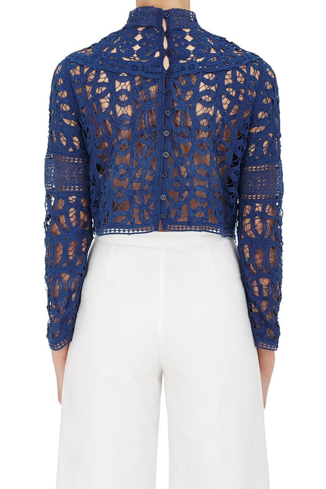 SEA Batternberg Lace Top - Front Full Image