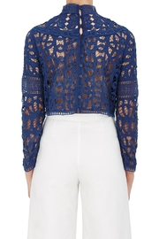 SEA Batternberg Lace Top - Front full body