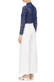 SEA Batternberg Lace Top - Back cropped