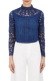 SEA Batternberg Lace Top - Front cropped