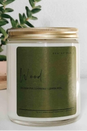 Sea of Roses Wood Soy Candle - Product Mini Image