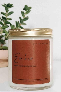 Sea of Roses Ember Soy Candle - Alternate List Image