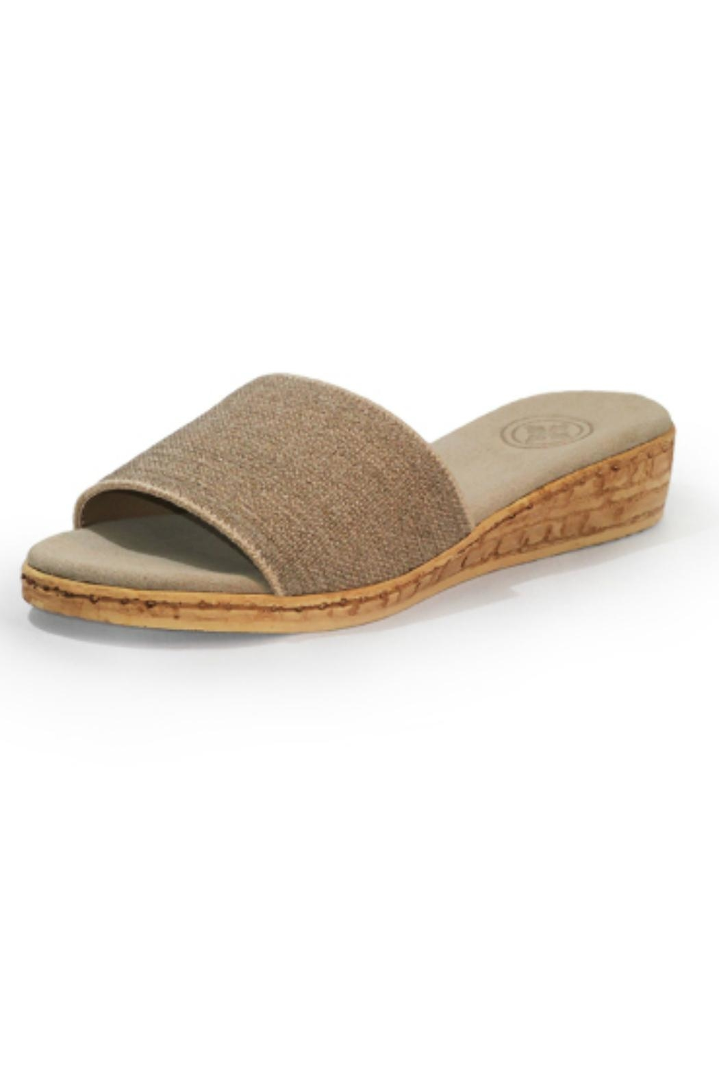 CHARLESTON Seabrook Slide Wedge - Front Cropped Image