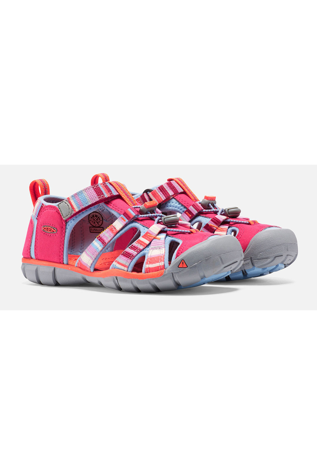 Keen Seacamp II CNX Sandal Tots - Front Full Image