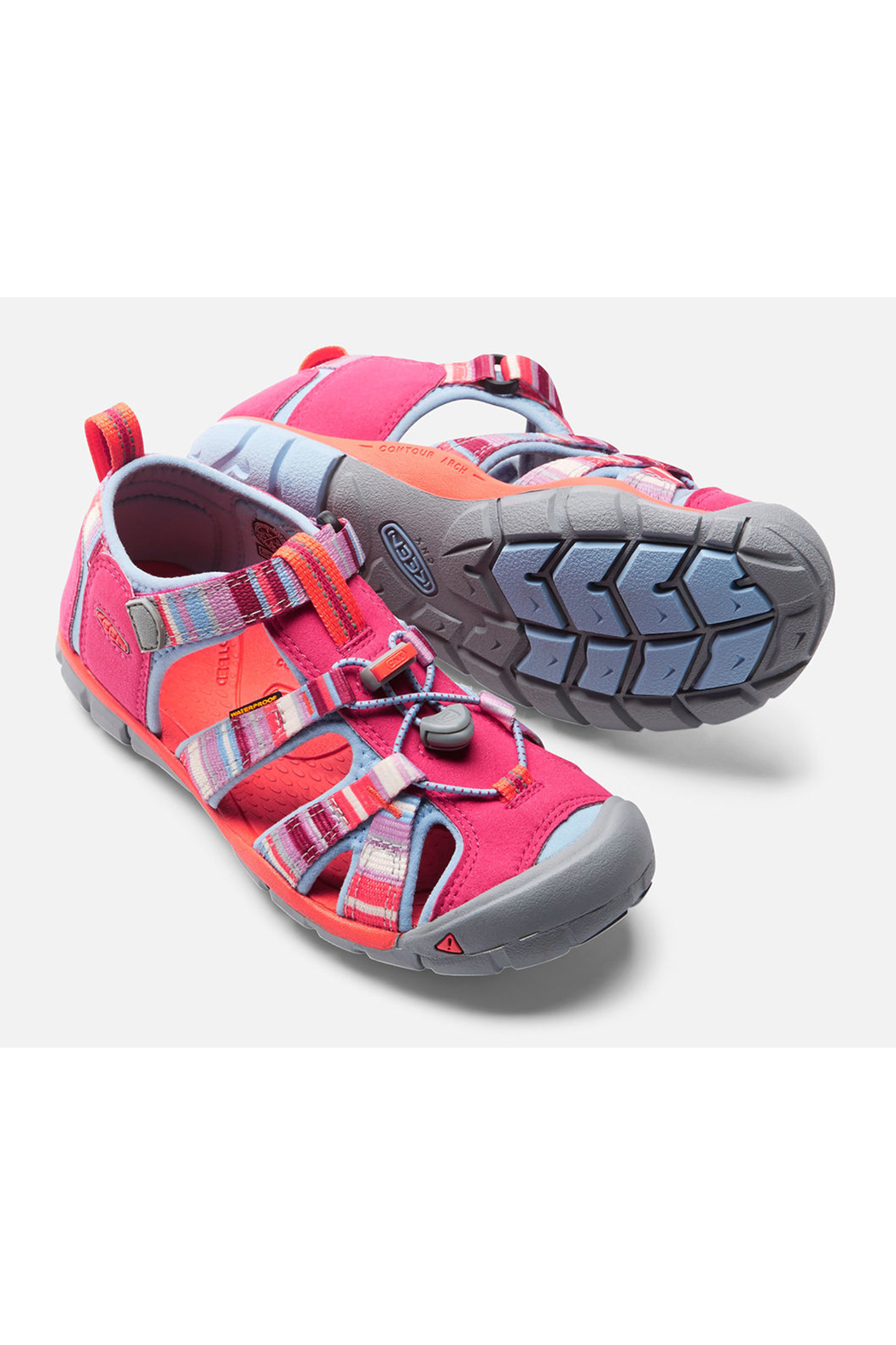 Keen Seacamp II CNX Sandal Tots - Front Cropped Image