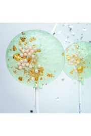 The Birds Nest SEAFOAM GREEN & PINK LOLLIPOPS - Front cropped