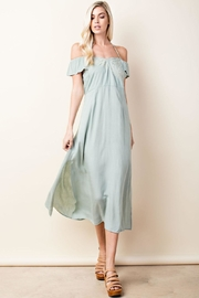 Love Seafoam Halter Dress - Product Mini Image