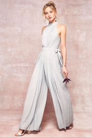 Promesa Seafoam Jumpsuit W/belt - Product Mini Image