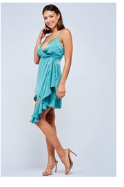Latiste Seafoam Satin Mini - Back cropped