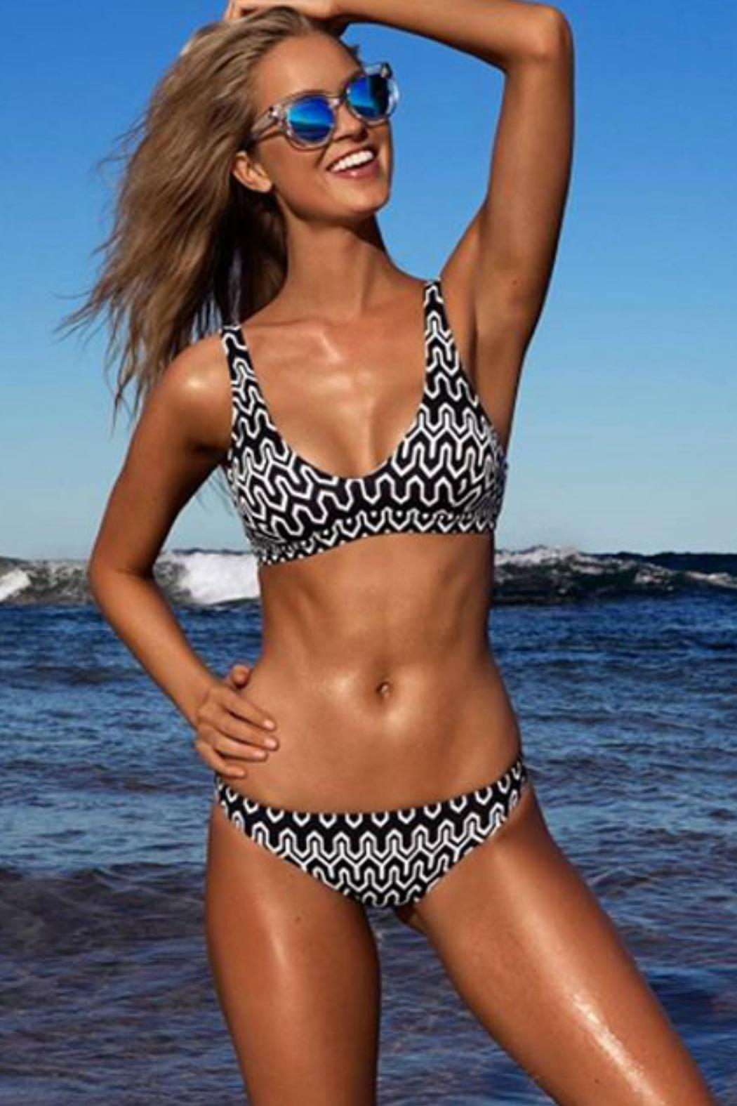 SEAFOLLY Tie Back Tank - Side Cropped Image