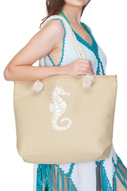 India Boutique Seahorse Beach Tote - Product Mini Image