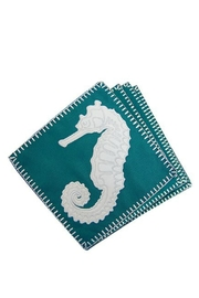 RIGHT SIDE DESIGN Seahorse Coasters Setof4 - Product Mini Image