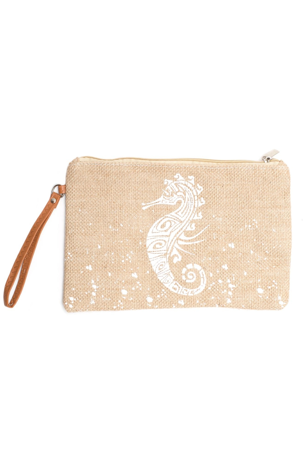 May 23 Seahorse Mini Clutch - Main Image