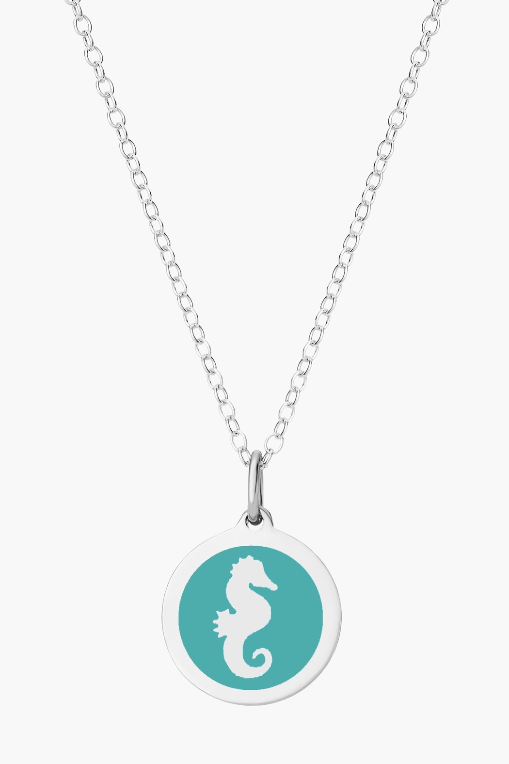 Auburn Jewelry Seahorse Silver Pendant - Original - Front Cropped Image