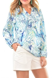 Charlie Paige Sealife Summer Blouse - Product Mini Image
