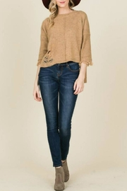 annabelle Seamed Sweater - Product Mini Image