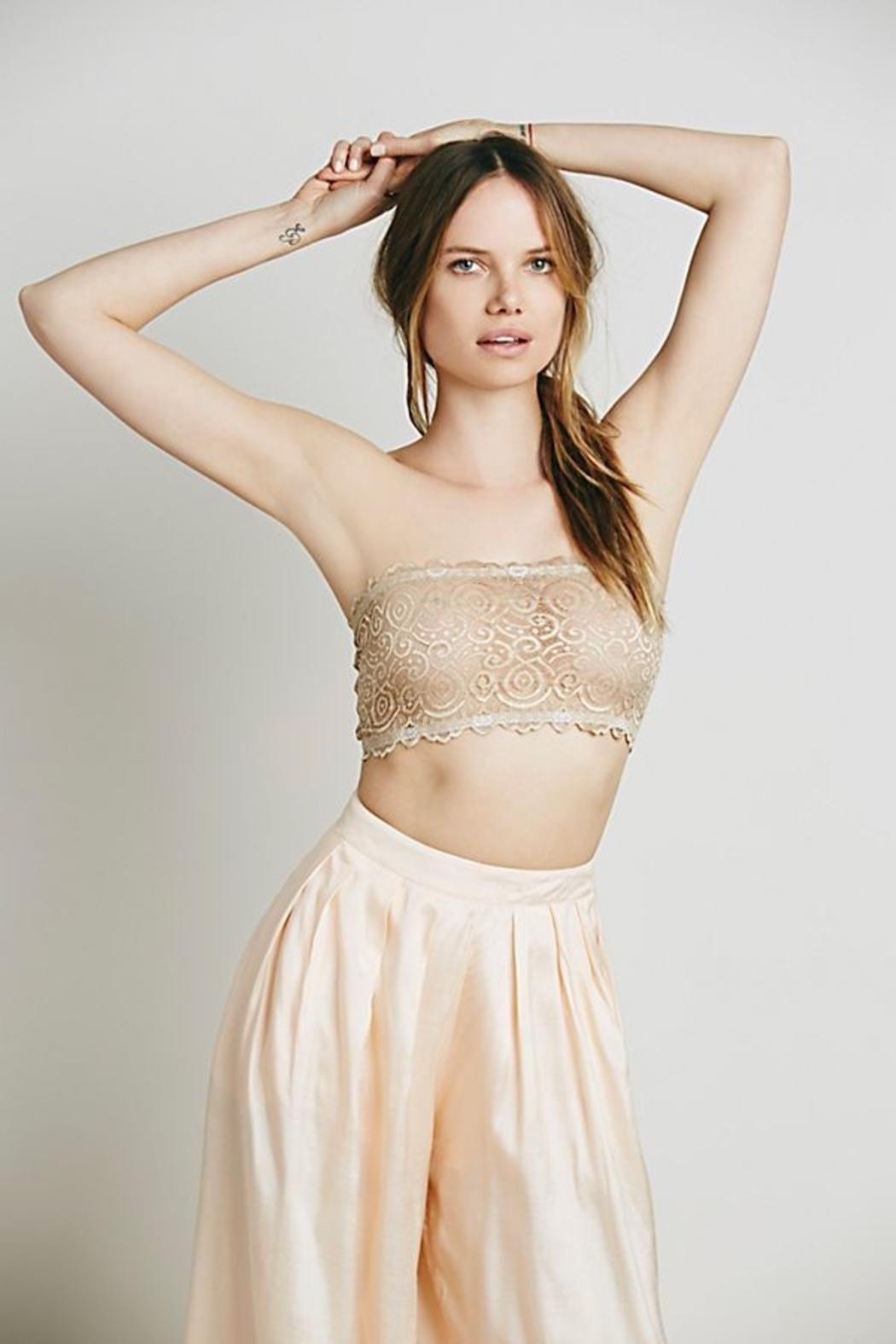 Free People Seamless Bandeau - Front Cropped Image