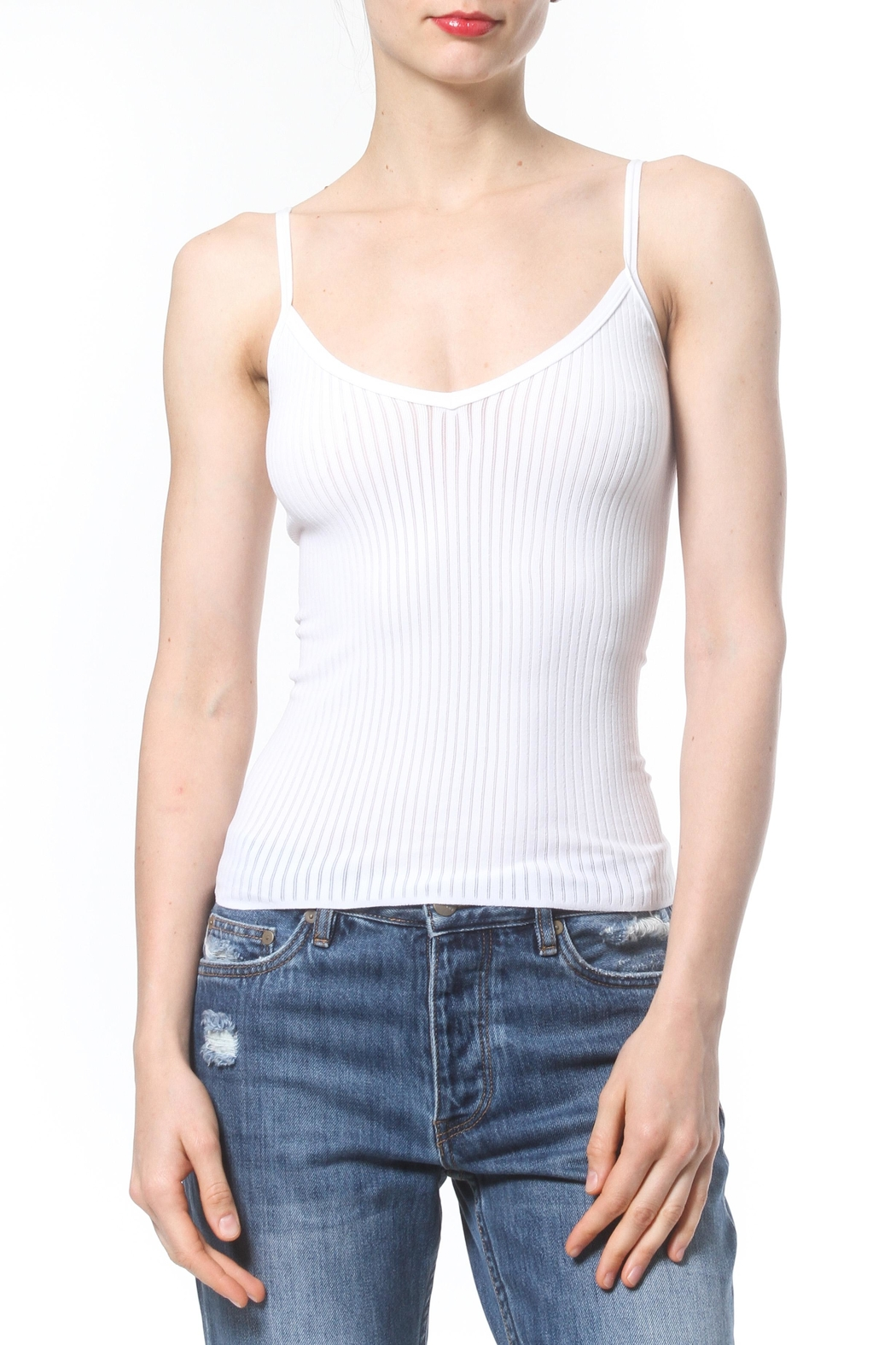 Madonna & Co Seamless Cami - Front Cropped Image