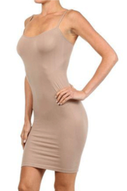 Yelete Seamless Camisole Dress - Front cropped