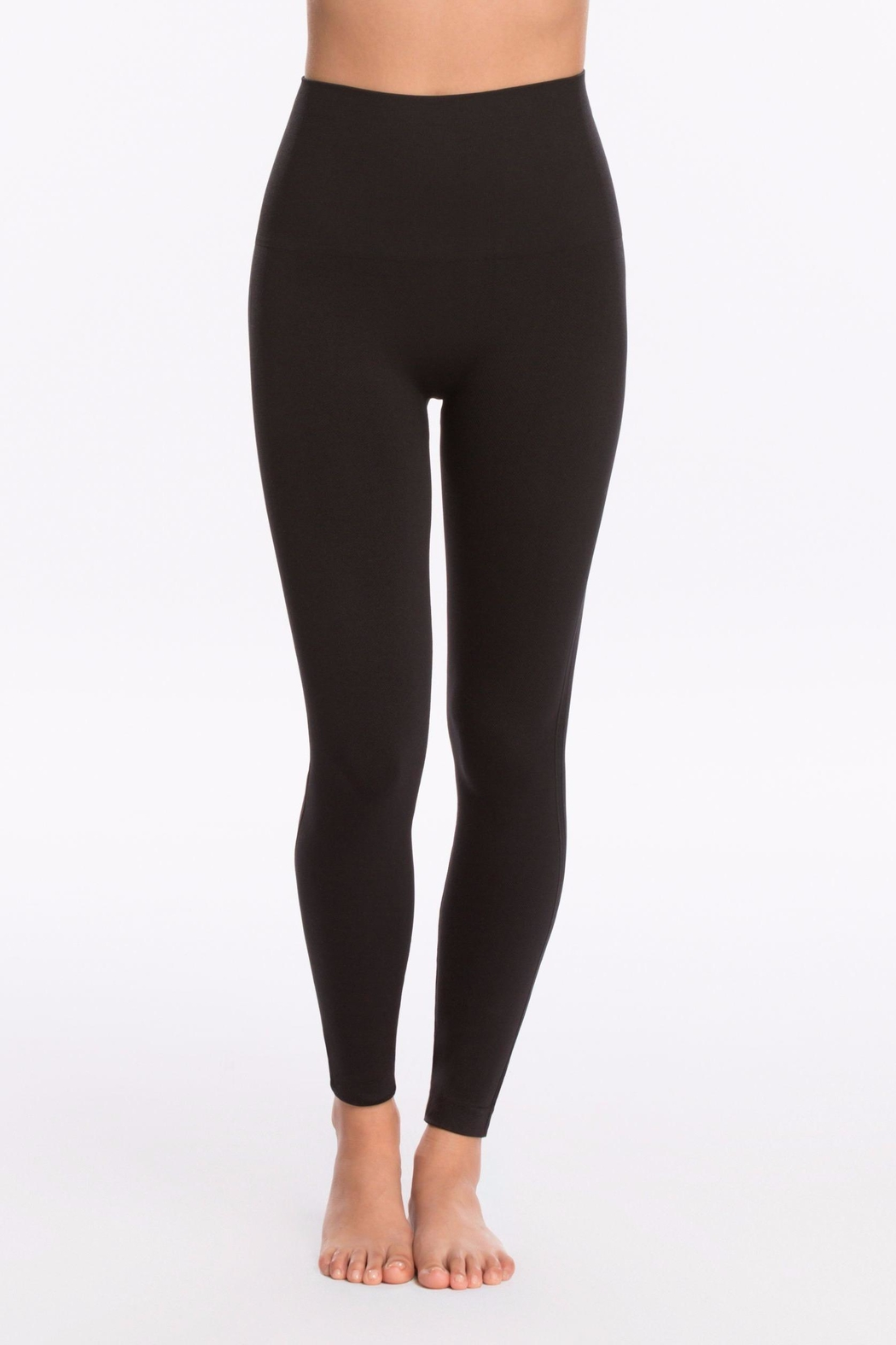Spanx Seamless Knit Legging - Front Cropped Image